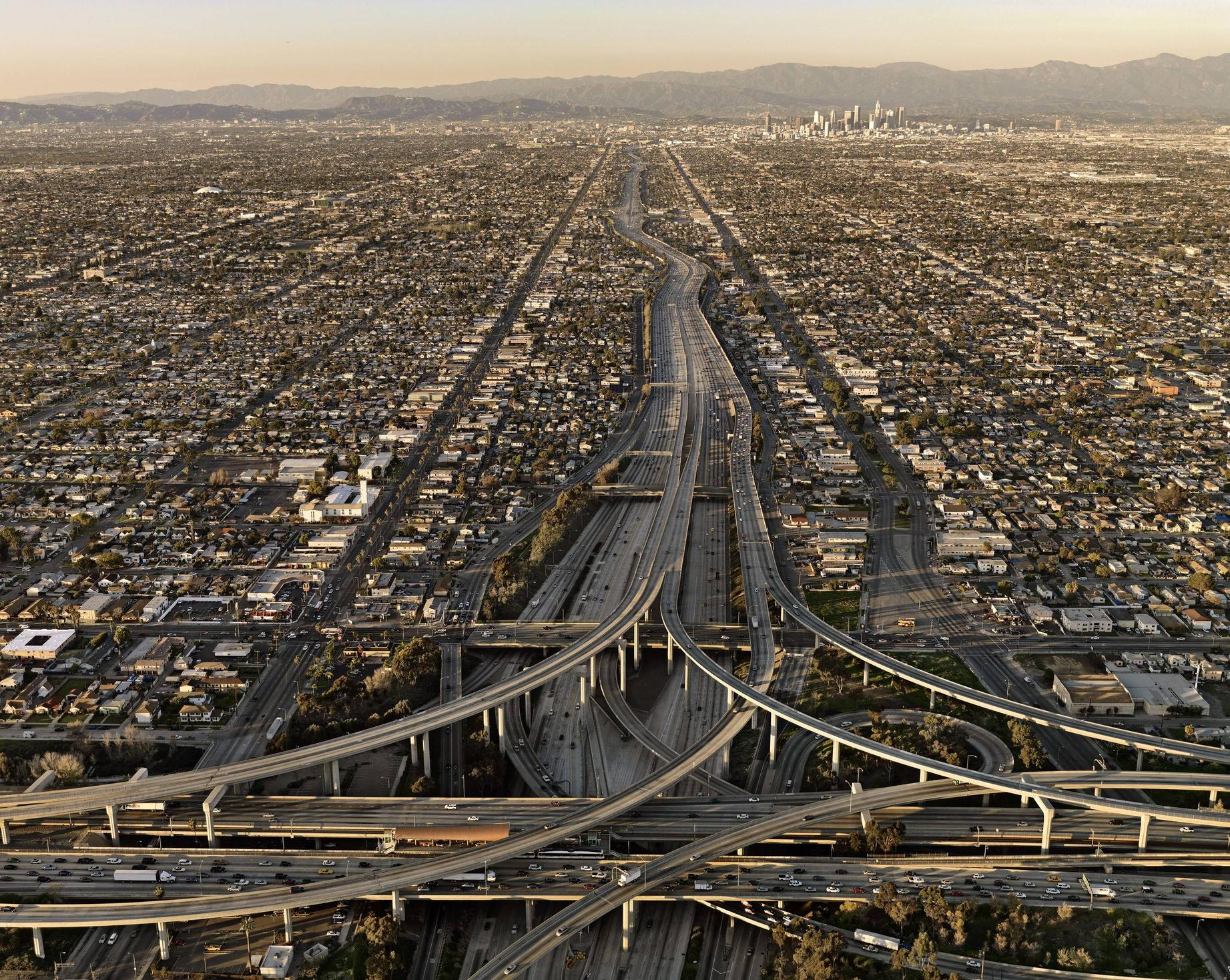 Los Angeles, Up the 110 Freeway | Car Accident Attorney