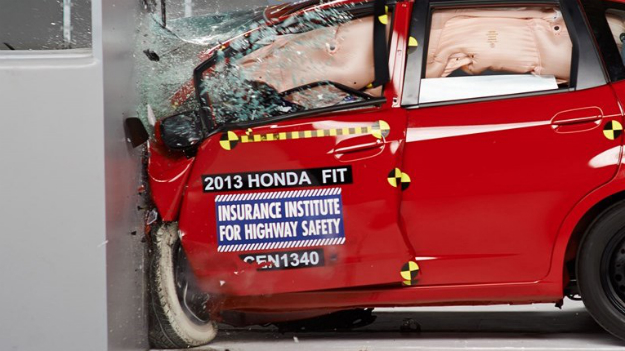 IIHS Small-Overlap Crash Test Results for Subcompact Cars Released