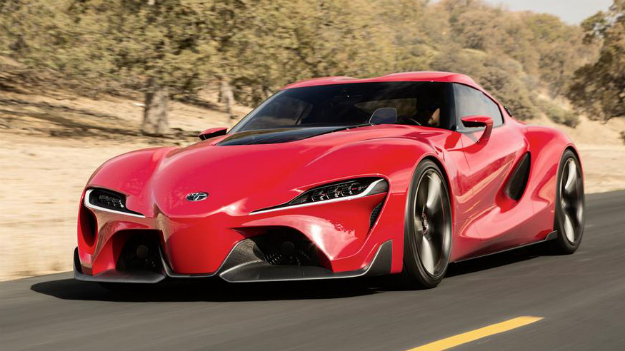 Toyota FT-1 Concept could signal the return of the Supra
