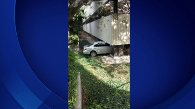 Elderly Man Accidentally Drives Car Into Medical Office