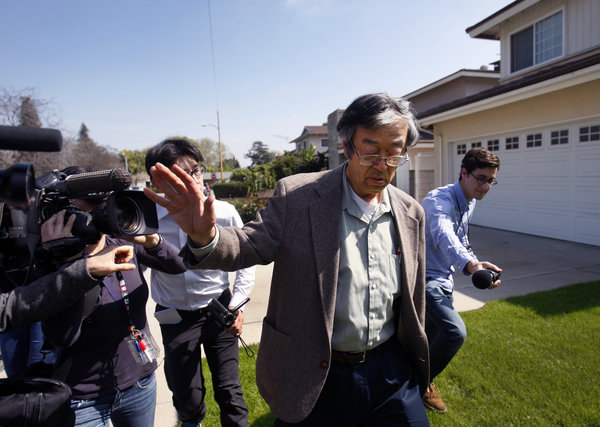 Alleged Bitcoin Founder Chased By Reporters