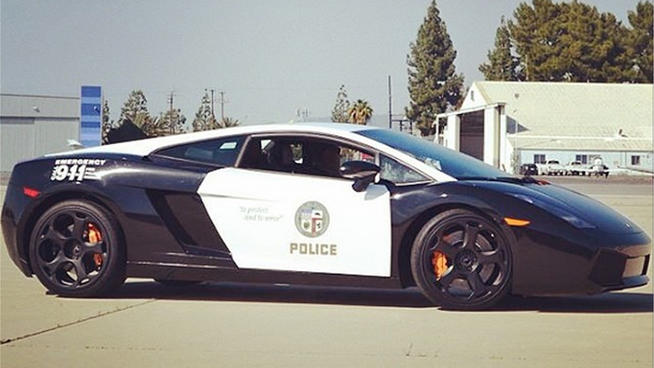 LAPD Gets a Lamborghini Gallardo, Crooks Watch Out