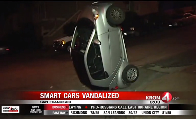 Smart Cars The Prey In New Prank