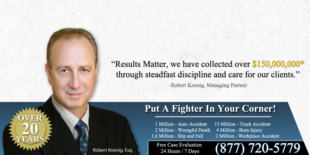 Robert Koenig, Car Accident Attorney